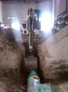 Exhaust Extraction  Below Ground