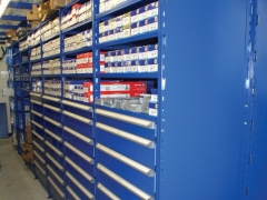 Shelving Parts Room Shelving
